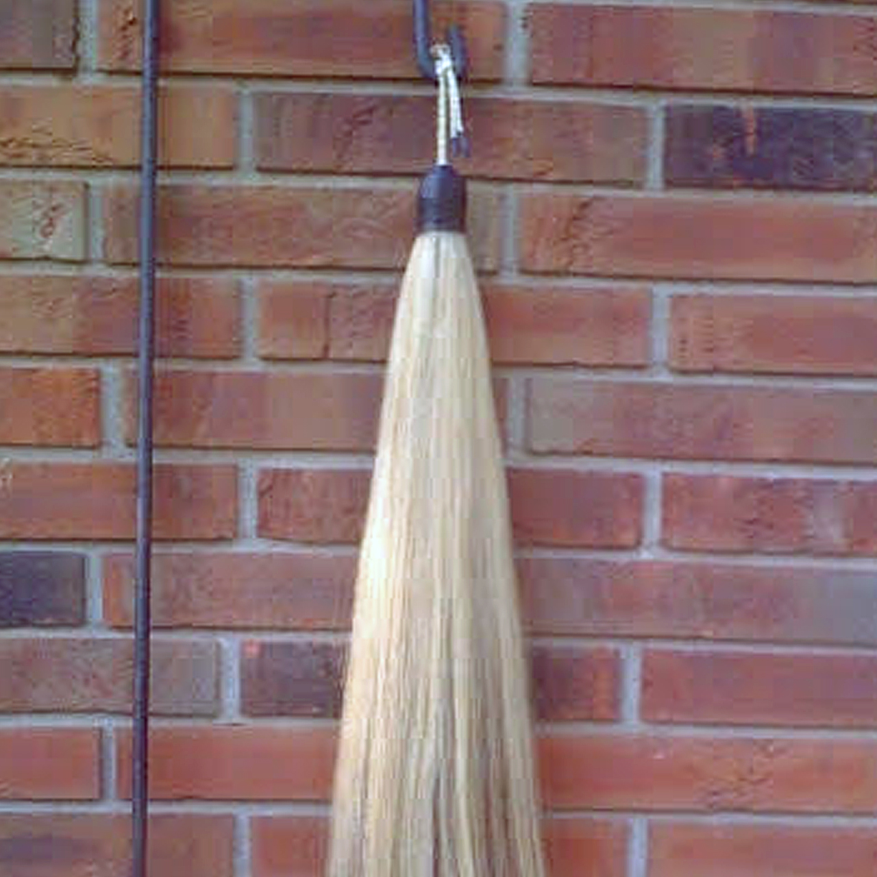 New Natural Black Real Horse Hair Tail Extension 1//2Lb 34-36 AQHA B2H w//FREE BAG